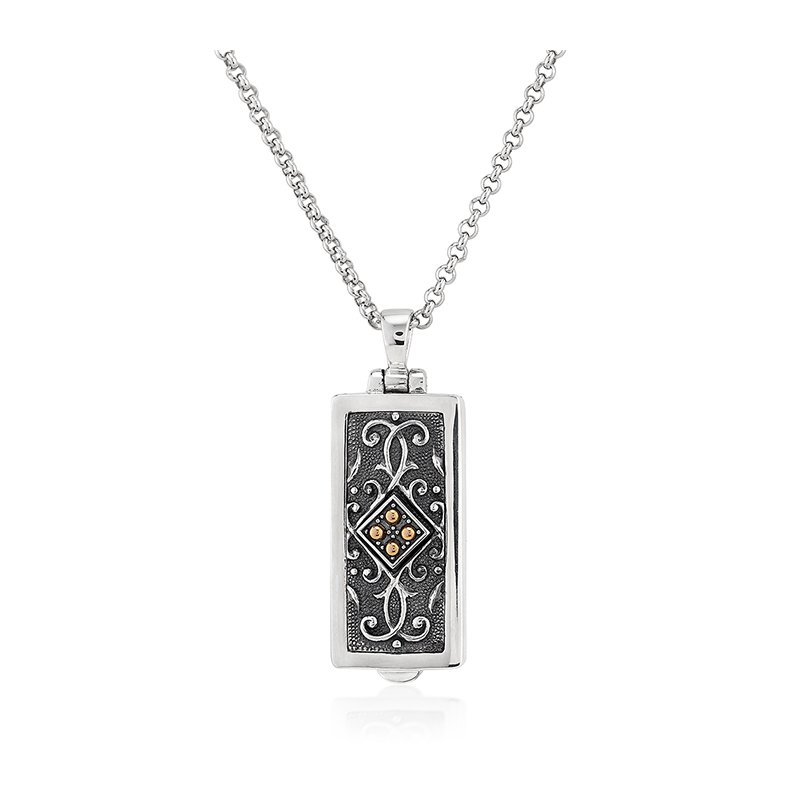 Anatoli Jewelry Rectangular Locket