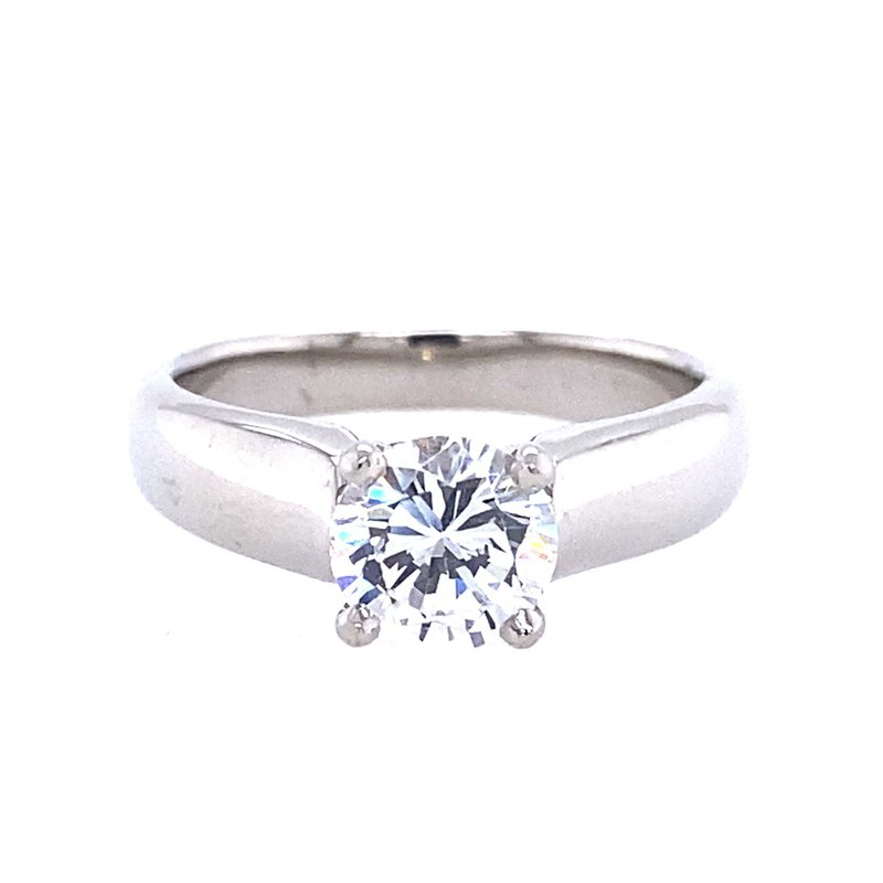 B&C Collections Solitaire Cathedral Engagement Ring