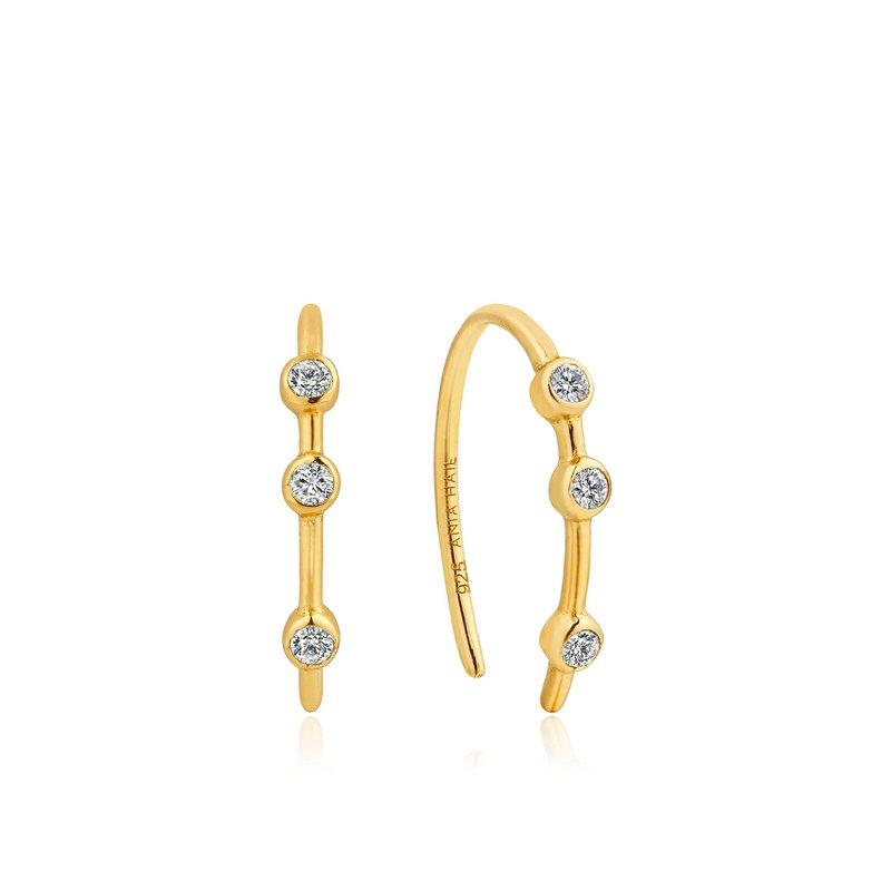 Ania Haie Shimmer Stud Hook Earrings