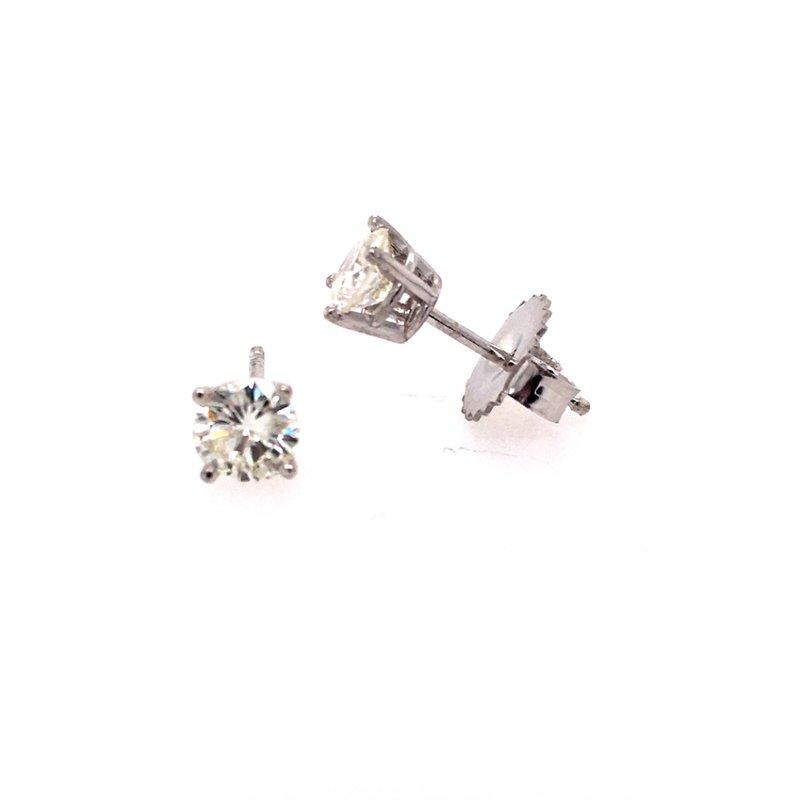 B&C Creations Diamond Stud Earrings