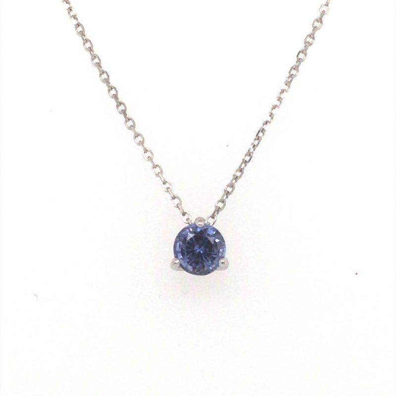 B&C Creations Lavender Blue Sapphire Pendant