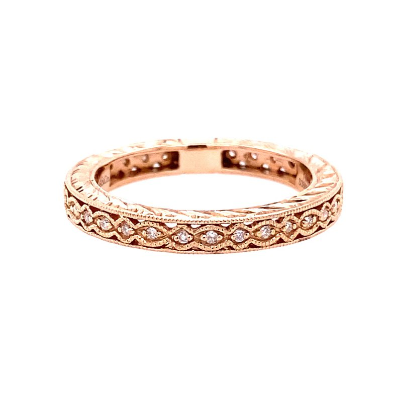 Gabriel & Co. -  IN-STORE COLLECTION 14KR Diamond Band