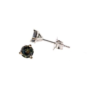 Alexandrite Stud Earrings