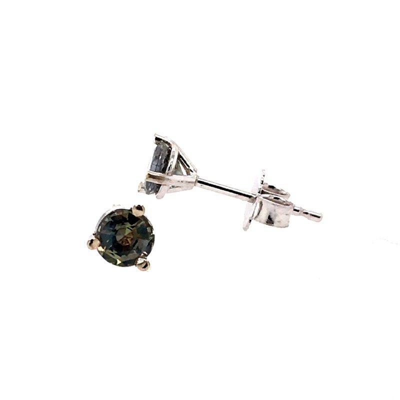B&C Creations Alexandrite Stud Earrings