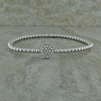 Diamond Stretch Bangle