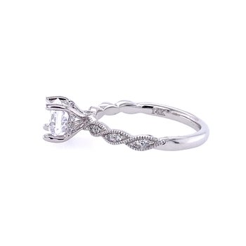 Vintage Inspired Twist Engagement Ring