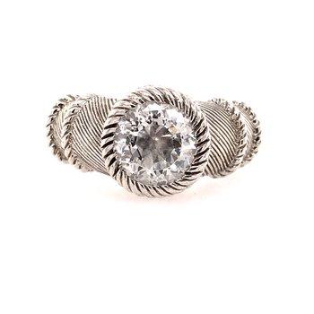 Judith Ripka Cubic Zirconia Ring