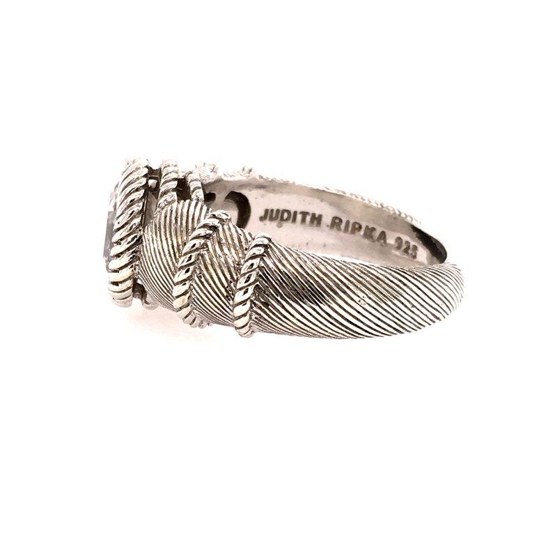 B&C Estate Collection Judith Ripka Cubic Zirconia Ring
