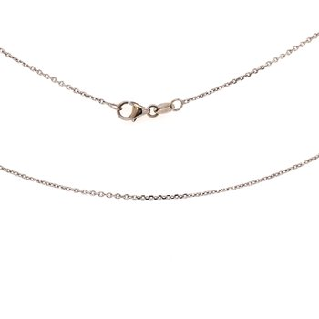 White Gold Cable Chain