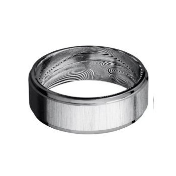 Tantalum Cross Satin Finish Band