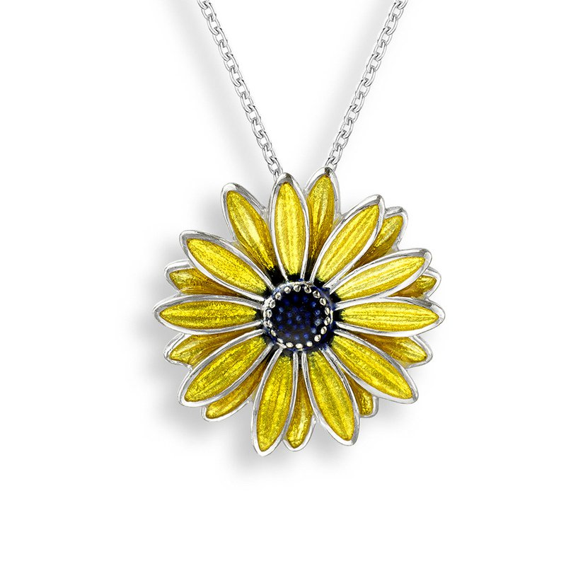 Nicole Barr Designs IN-STORE Collection Black Eyed Susan Necklace