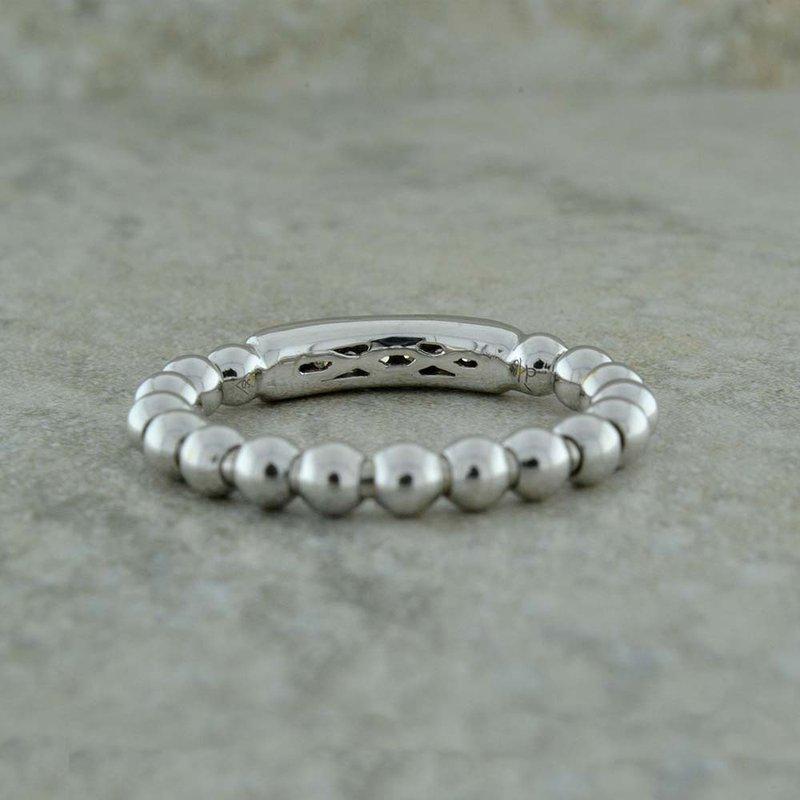 Hulchi Belluni Diamond Pave Bar Ring