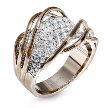 Diamond Pavé Wave Band
