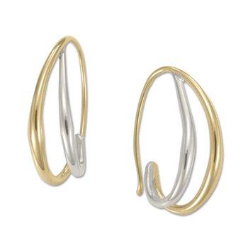 Duo's Hoop Earrings
