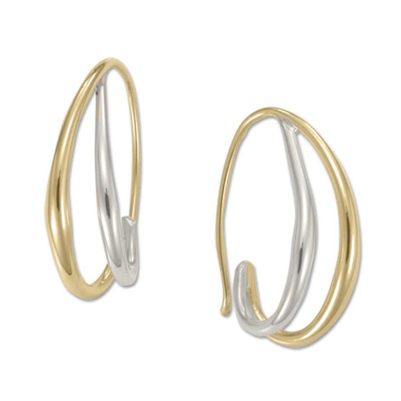 E. L. Designs Duo's Hoop Earrings