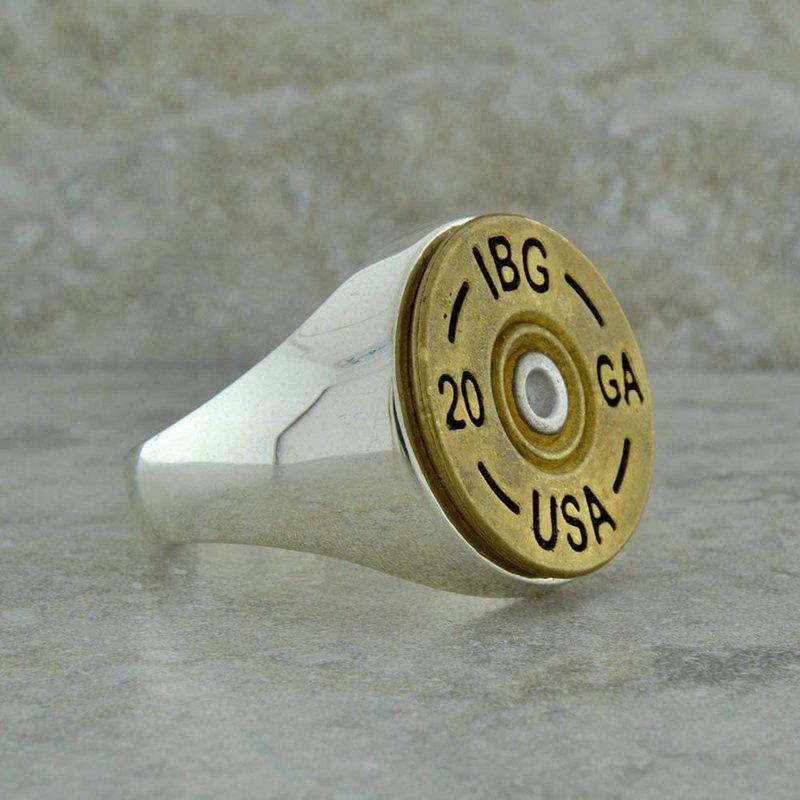B&C Collections 20 Gauge Men's Ring