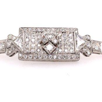 Art Deco Diamond Bracelet