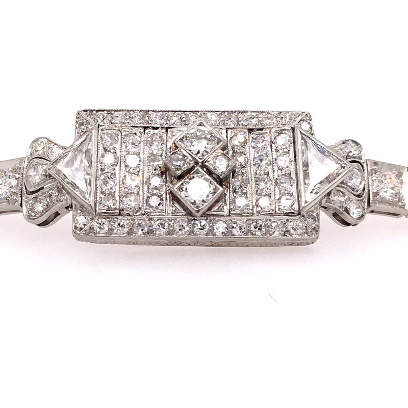 B&C Estate Collection Art Deco Diamond Bracelet