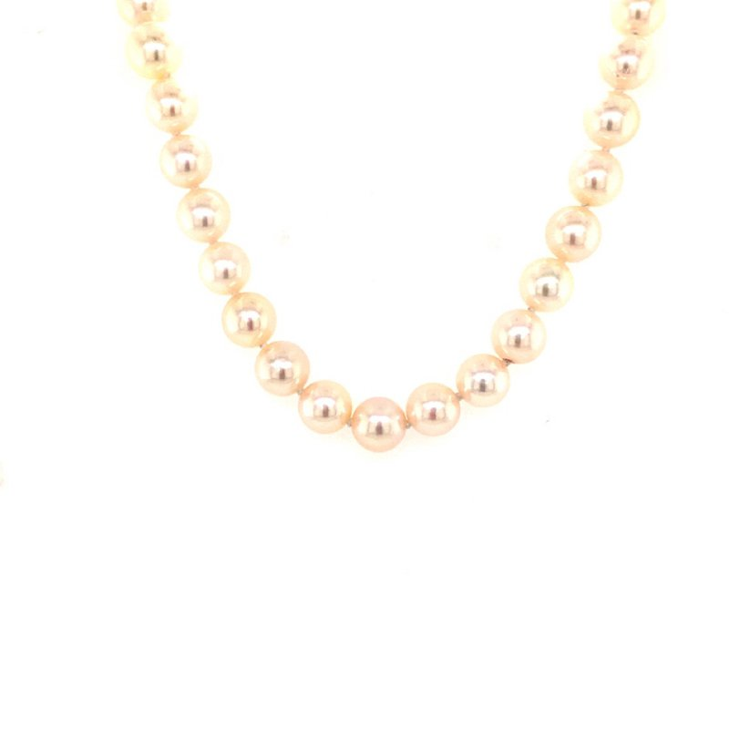 B&C Creations Akoya Pearl Necklace