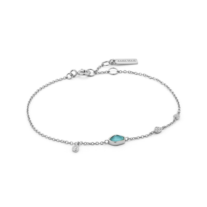 Ania Haie Turquoise Disc Bracelet