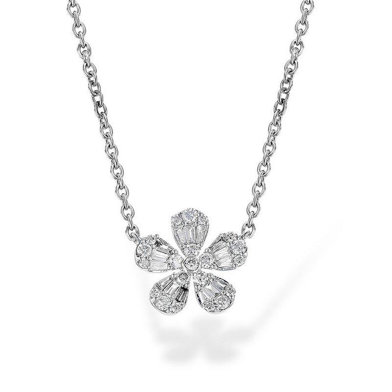 Allison Kaufman Diamond Floral Necklace