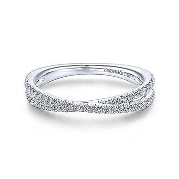 Duel Diamond Stackable Band