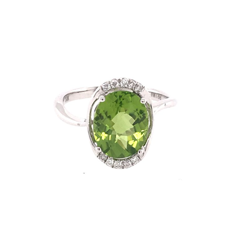 B&C Collections Peridot Ring