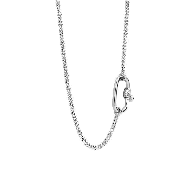 Ti Sento Single Link Necklace