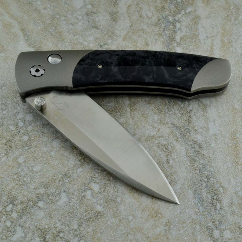 William Henry Titanium Folding Knife