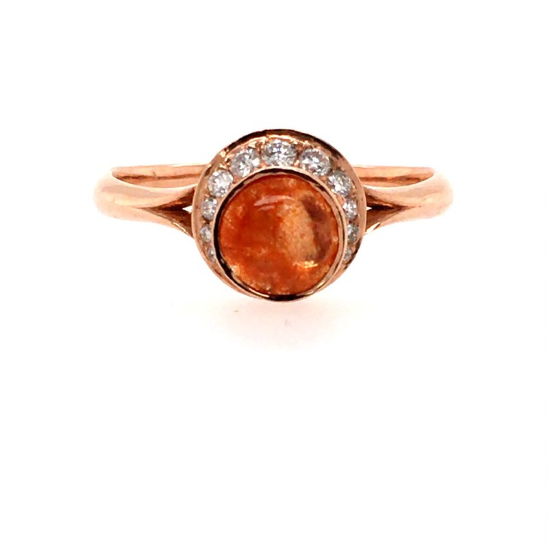 B&C Creations Crescent and Sunstone Ring
