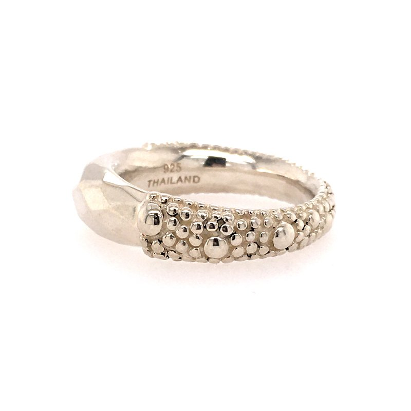 B&C Estate Collection Geometric Ring from Michael Dawkins