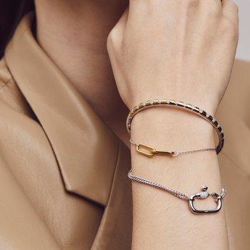 Double Link Chain Bracelet