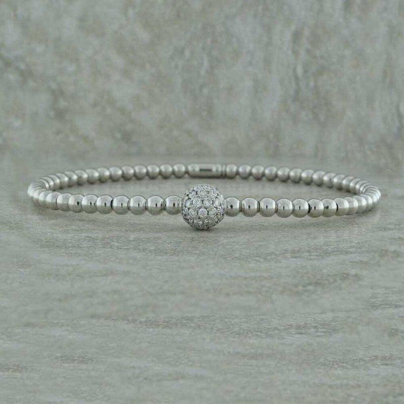 Hulchi Belluni Diamond Stretch Bangle
