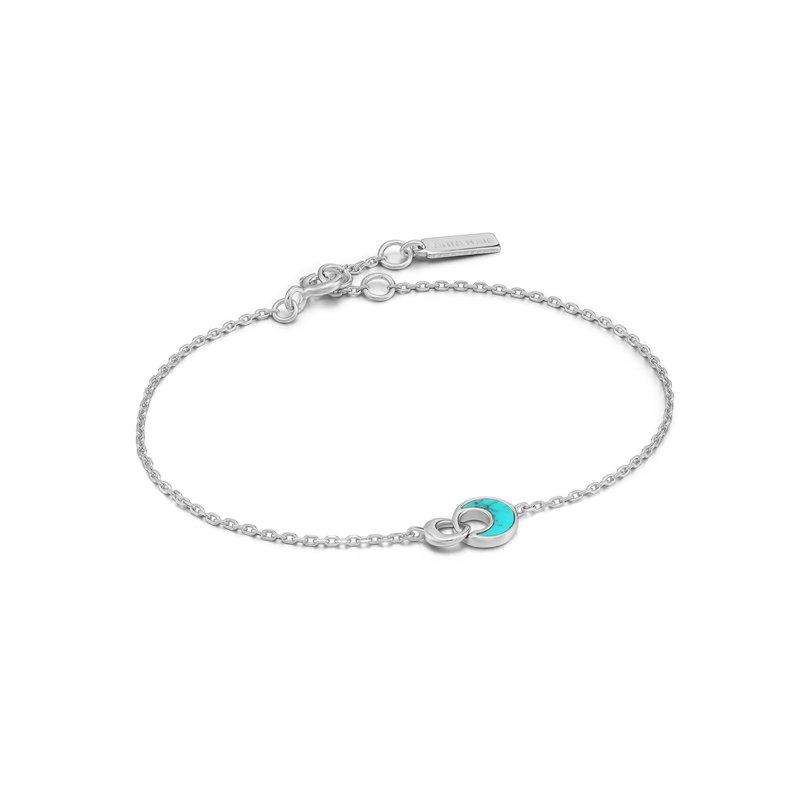 Ania Haie Turquoise Crescent Bracelet