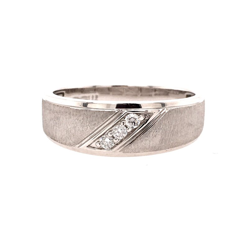 B&C Estate Collection Diamond Accented Men's Band