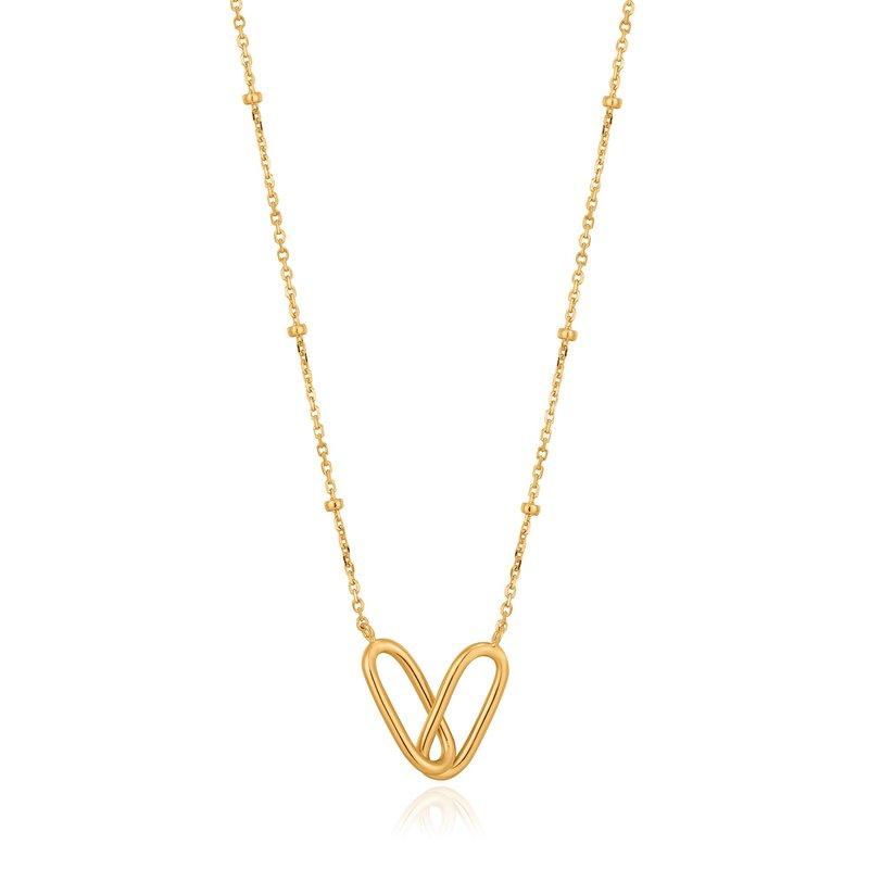 Ania Haie Beaded Chain Link Necklace