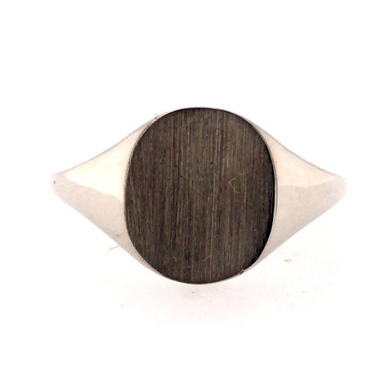 B&C Collections Oval Signet Ring