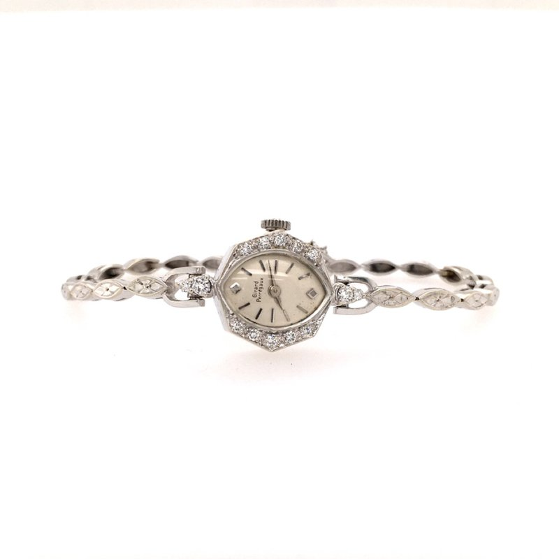 B&C Estate Collection Ladies Platinum Movado Watch