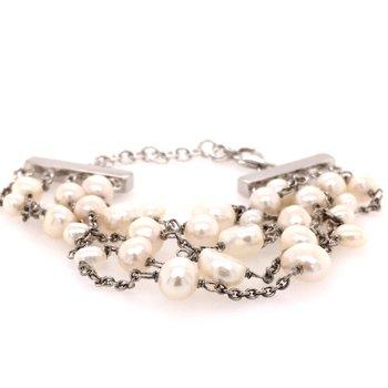 Five Strand Pearl Bracelet