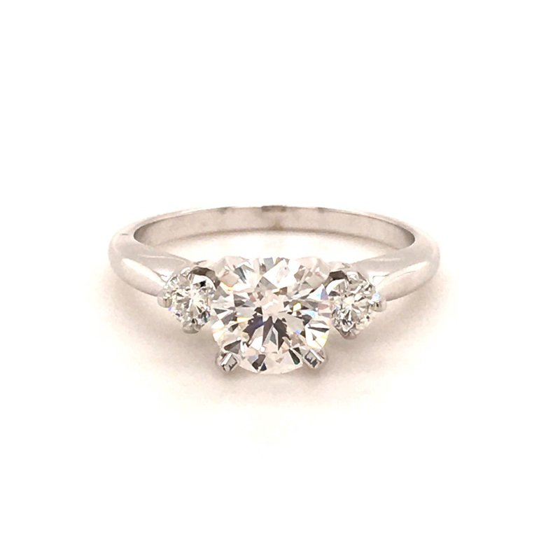 B&C Collections Three Stone Engagement Ring