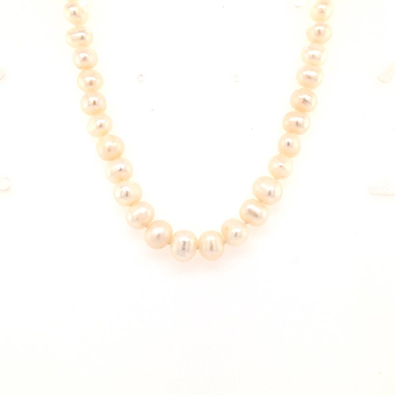B&C Estate Collection Freshwater Cultured Pearl Necklace