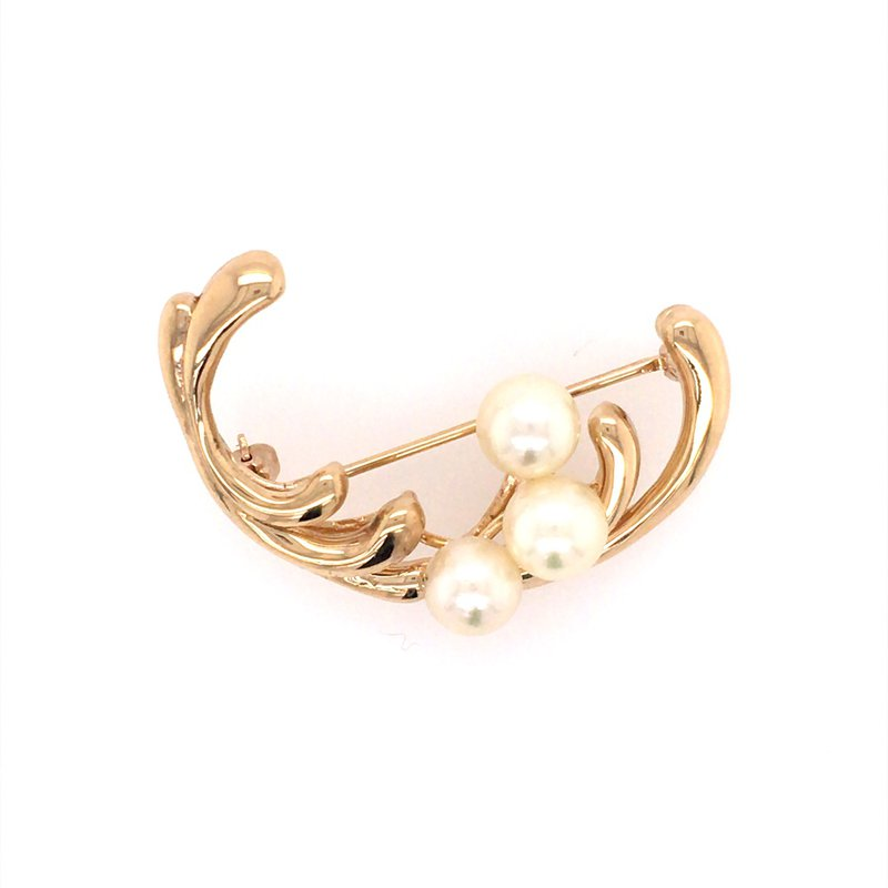 B&C Estate Collection Cultured Pearl Brooch