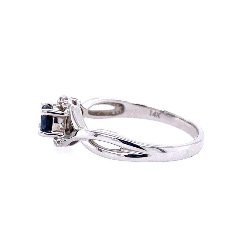 Parlé Sapphire & Diamond Ring