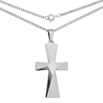 Tungsten Cross Pendant and Chain