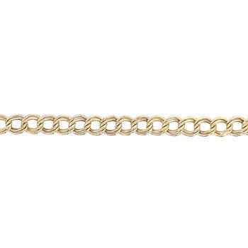 Double Link Charm Bracelet