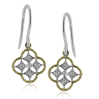 Diamond Trellis Earrings
