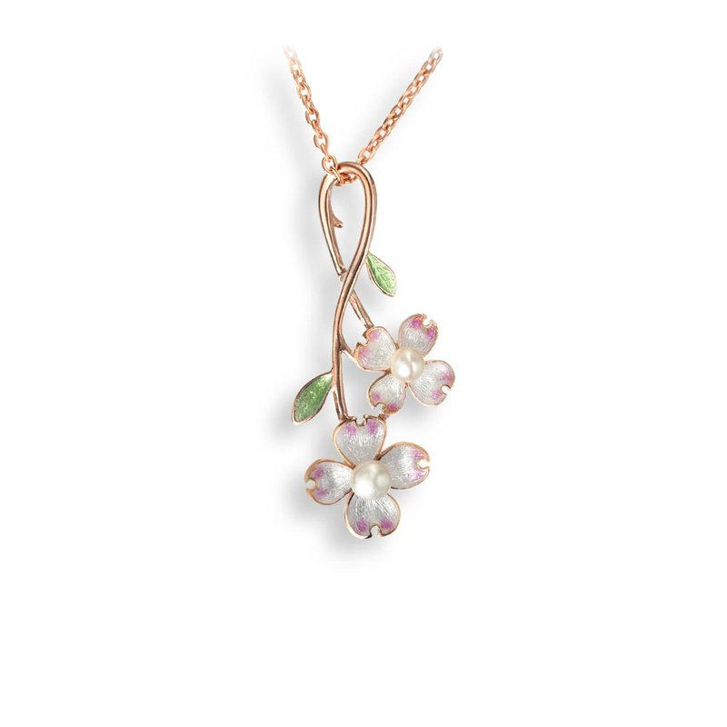 Nicole Barr Designs IN-STORE Collection Dogwood & Pearl Necklace
