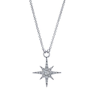 Diamond Starburts Pendant