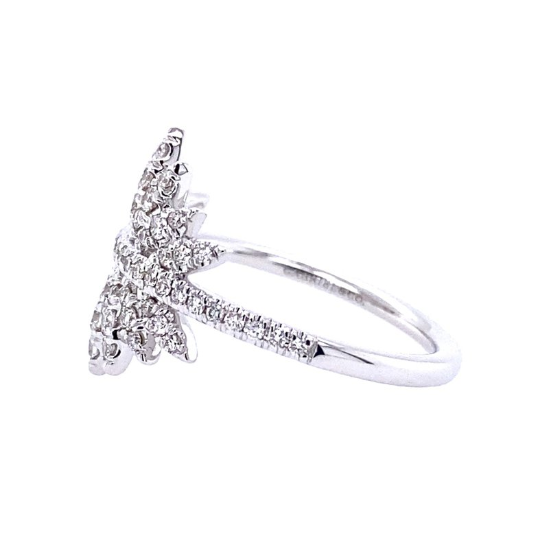 Gabriel & Co. -  IN-STORE COLLECTION Diamond Pave Burst Ring