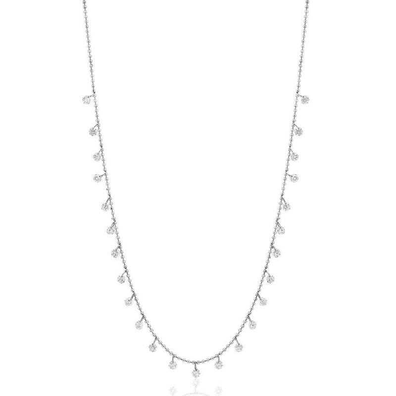 B&C Collections Diamond Dash Necklace